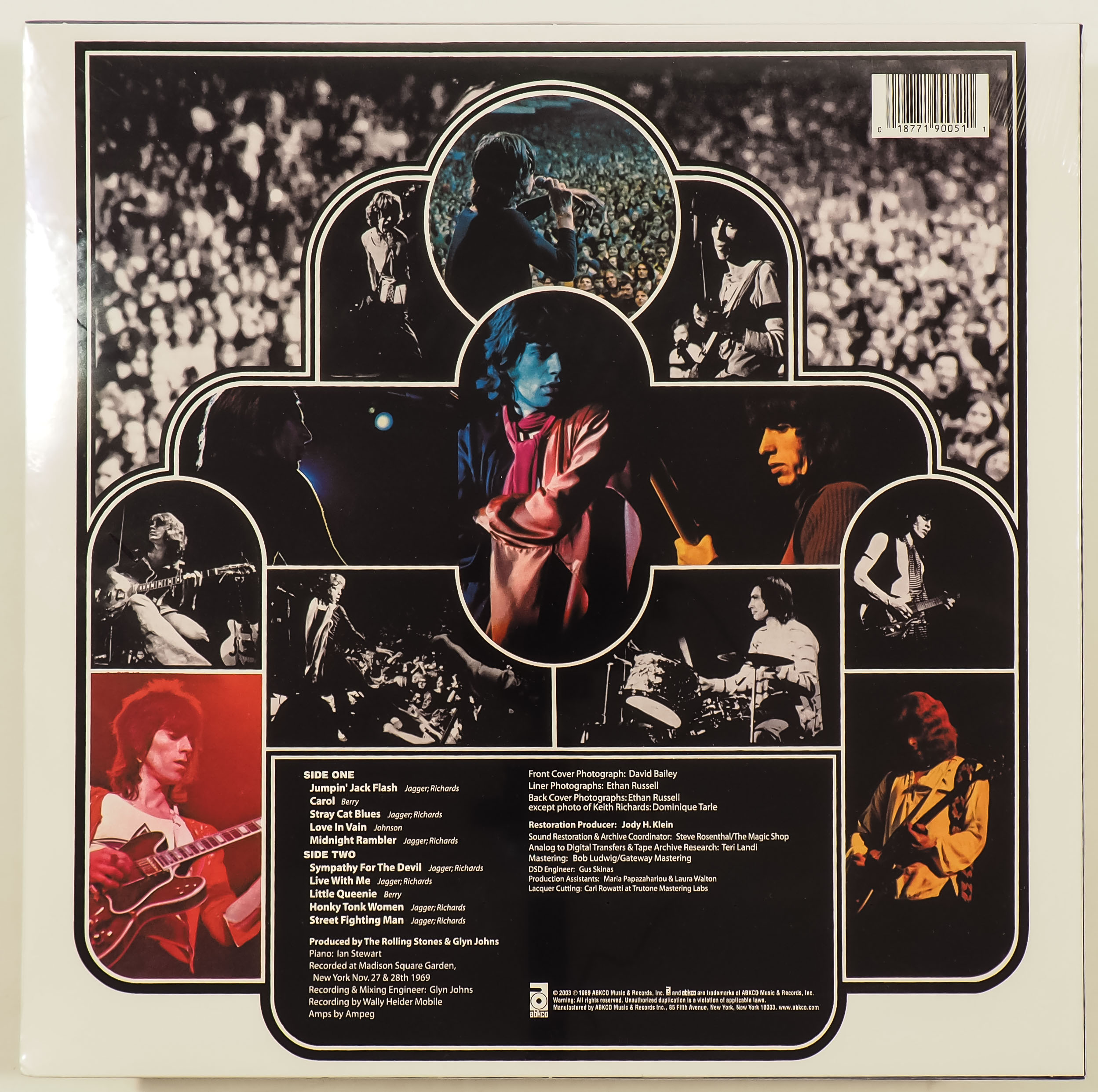ROLLING STONES - GET YER YA-YA'S OUT! - CLEAR VINYL