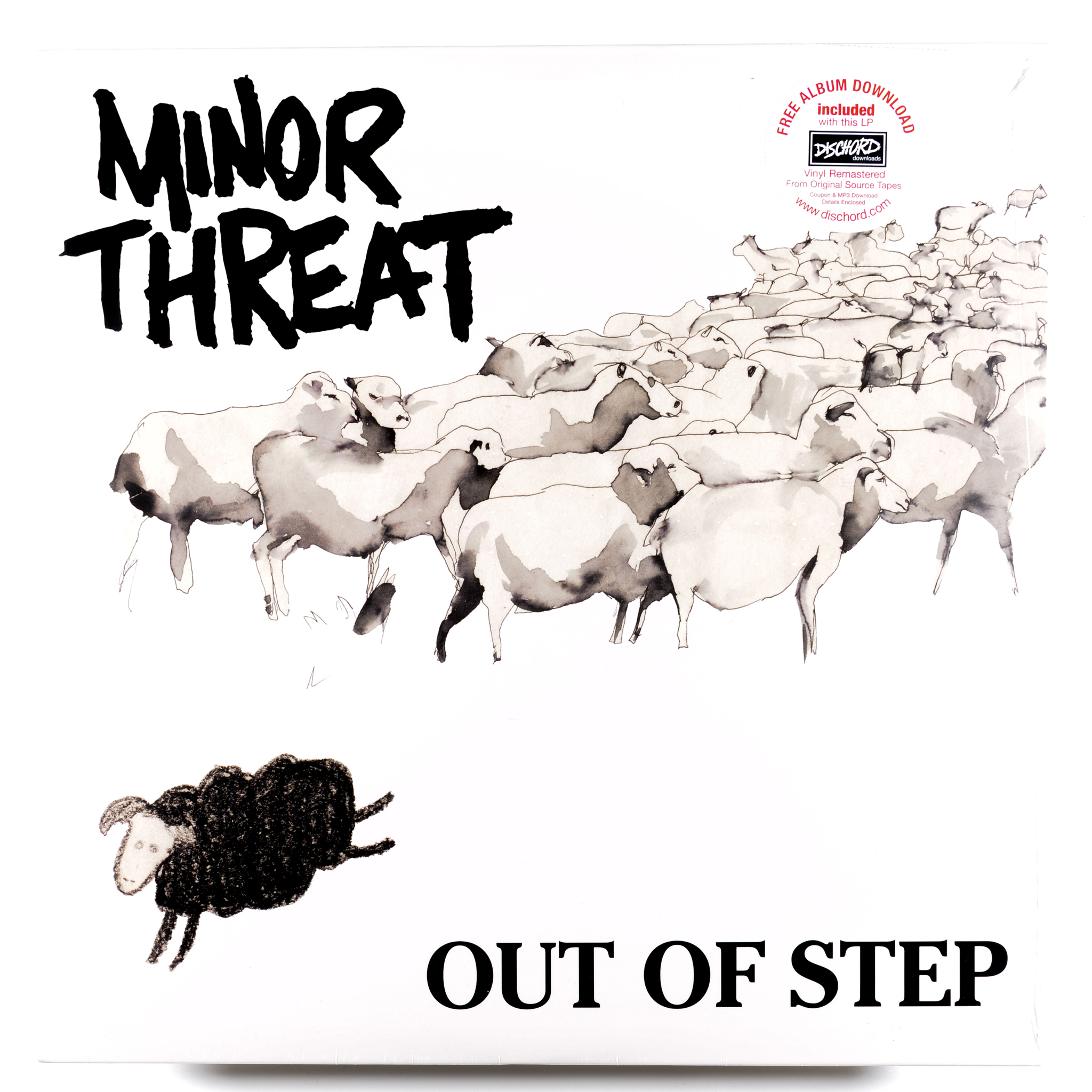 Minor Threat Out Of Step Get Hip Recordings