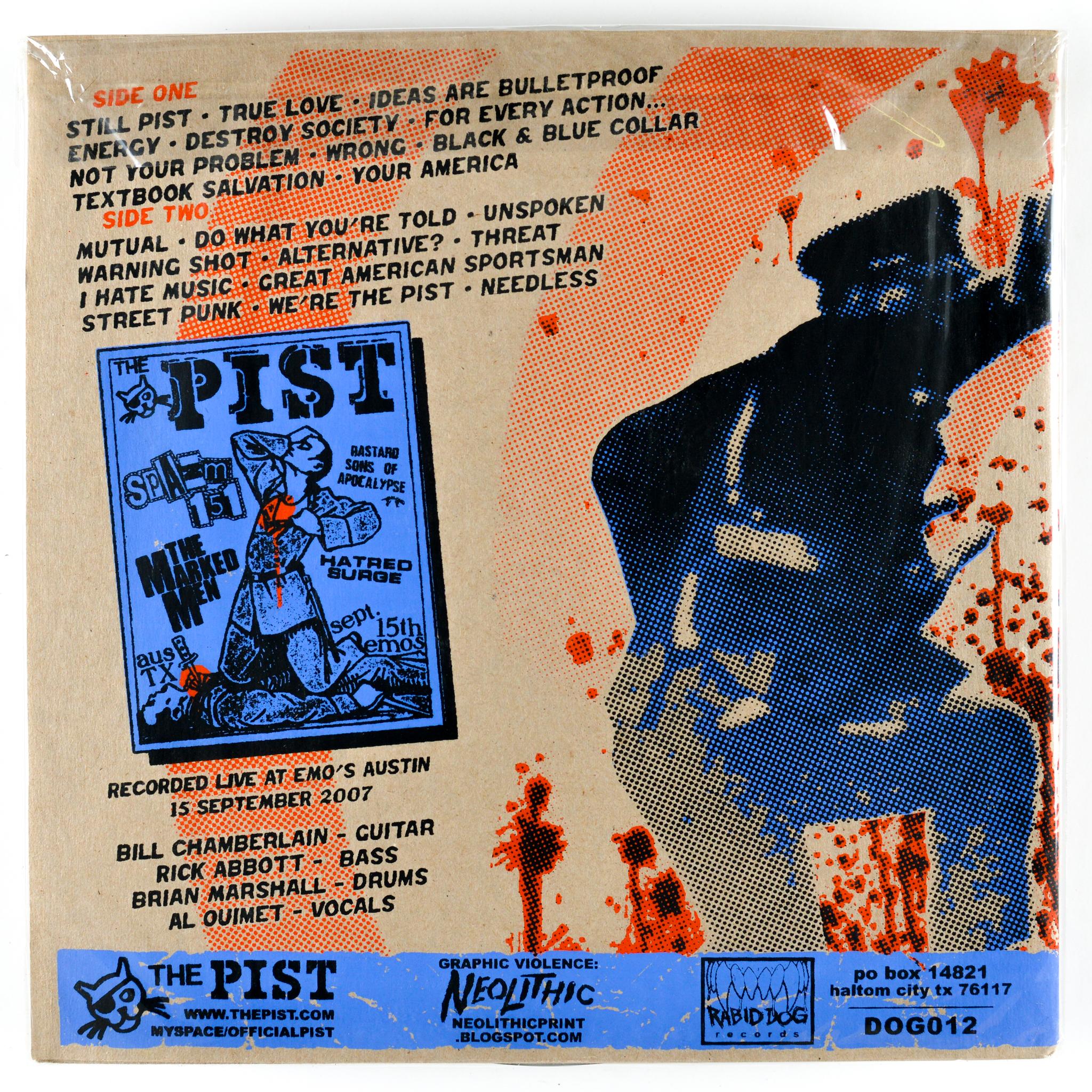 PIST - LIVE & STILL PIST