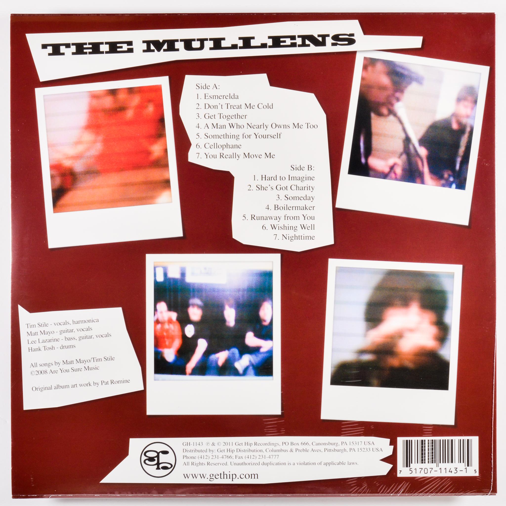 MULLENS - IT'S HARD TO IMAGINE - 180-GRAM