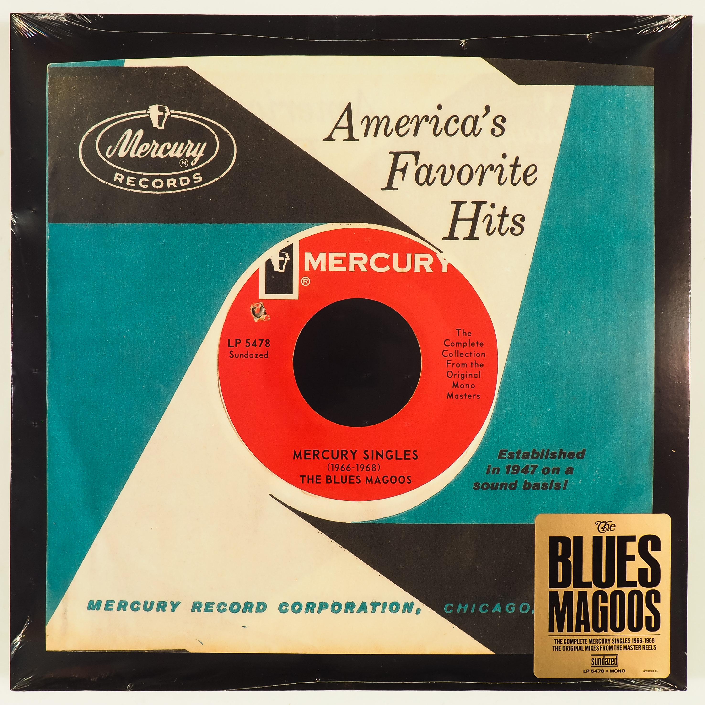 BLUES MAGOOS - MERCURY SINGLES (1966-1968) - 180-GRAM