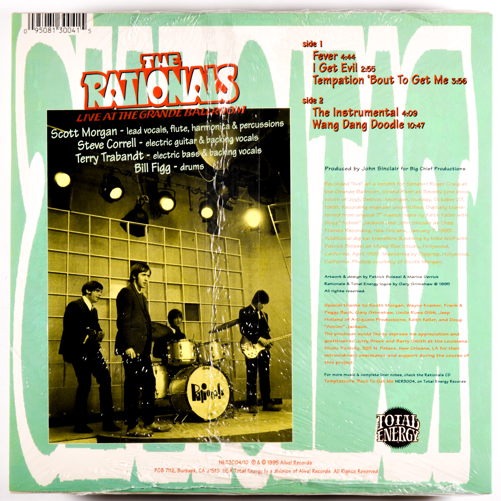 RATIONALS - TEMPTATION 'BOUT TO GET ME - 10-INCH