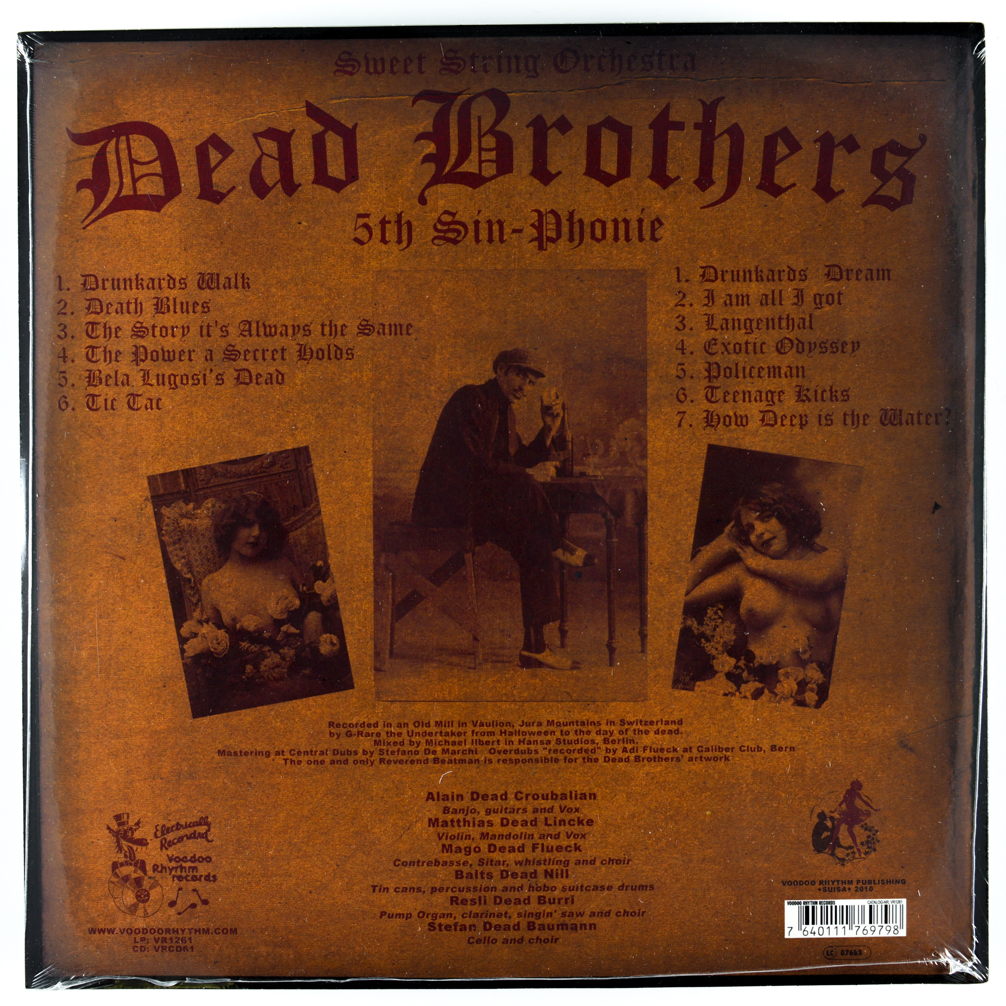 DEAD BROTHERS - 5th SIN-PHONIE
